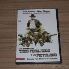 Cine: TRES FORAJIDOS Y UN PISTOLERO DVD LEE MARVIN NUEVA PRECINTADA. Lote 177122658