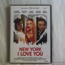 Cine: DVD NEW YORK I LOVE YOU. Lote 46293459
