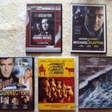 Cine: DVD LOTE DE GEORGE CLOONEY, 4 DVDS. Lote 46334722