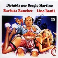 Cine: CUERNOS CON SALSA PICANTE (DVD PRECINTADO) BARBARA BOUCHET - LINO BANFI. Lote 107221267