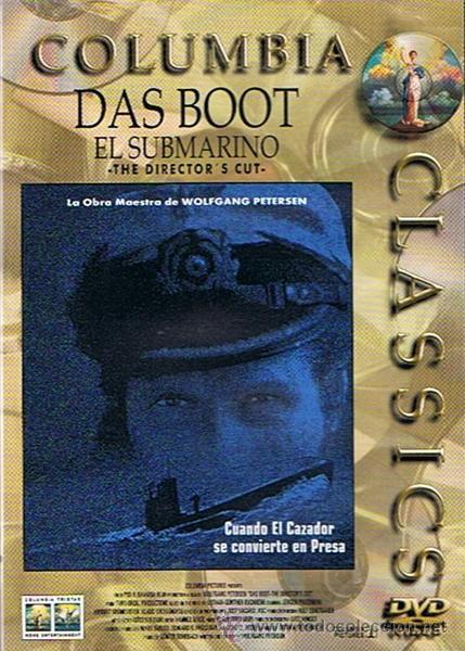 DVD DAS BOOT EL SUBMARINO WOLFGAN PETERSEN (Cine - Películas - DVD)