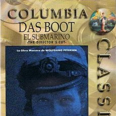 Cine: DVD DAS BOOT EL SUBMARINO WOLFGAN PETERSEN. Lote 46382300