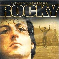 Cine: DVD ROCKY SYLVESTER STALLONE EDICIÓN ESPECIAL 25 ANIVERSARIO PACK 5 DVD . Lote 46410695