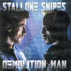 Cine: DVD DEMOLITION MAN STALLONE & SNIPES. Lote 46465269