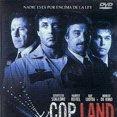 Cine: DVD COP LAND SYLVESTER STALLONE / ROBERT DE NIRO . Lote 46465301