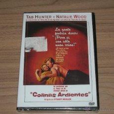 Cine: COLINAS ARDIENTES DVD TAB HUNTER NATALIE WOOD NUEVA PRECINTADA. Lote 186394681