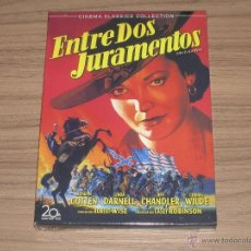 Cine: ENTRE DOS JURAMENTOS DVD JOSEPH COTTEN LINDA DARNELL JEFF CHANDLER CORNEL WILDE NUEVA PRECINTADA. Lote 180081122