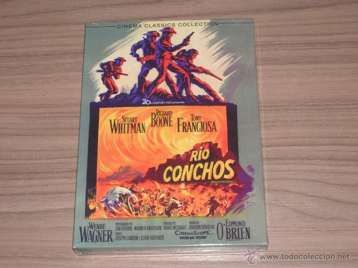 RIO CONCHOS DVD STUART WHITMAN RICHARD BOONE NUEVA PRECINTADA (Cine - Películas - DVD)