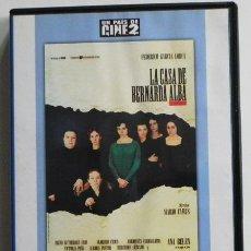 Cine: LA CASA DE BERNARDA ALBA DVD PELÍCULA DRAMA LORCA MARIO CAMUS ANA BELÉN CHICO PASTOR GUTIÉRREZ CABA. Lote 46533097