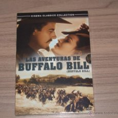 Cinema: LAS AVENTURAS DE BUFFALO BILL DVD BUFALO BILL NUEVA PRECINTADA. Lote 206452413