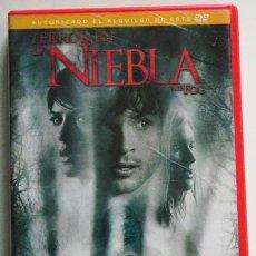 Cine: TERROR EN LA NIEBLA - DVD PELÍCULA TERROR SUSPENSE - TOM WELLING - SELMA BLAIR MAGGIE GRACE - EXTRAS. Lote 46582431