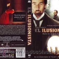 Cine: DVD EL ILUSIONISTA DVD. Lote 46601114