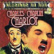 Cine: DVD CHARLES CHAPLIN CHARLOT . Lote 46609212