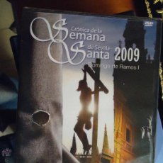 Cine: DVD SEMANA SANTA SEVILLA - CRONICA DE LA SEMANA SANTA 2009 - NUMERO 1 SIN ABRIR PRECINTADO. Lote 46618711