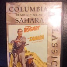 Cine: SAHARA. DVD DE LA PELICULA DE ZOLTAN KORDA. CON HUMPHREY BOGART, LLOYD BRIDGES... BLANCO Y NEGRO. 93. Lote 46619830