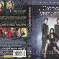 Cine: CRONICAS VAMPIRICAS, CUARTA TEMPORADA COMPLETA, DVD. Lote 46640616