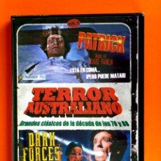 Cine: PATRICK - DARK FORCES / MAS ALLA DE LA REENCARNACIÓN - TERROR AUSTRALIANO -PRECINTADA. Lote 46713263