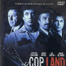 Cine: DVD COP LAND SYLVESTER STALLONE / HARVEY KEITEL. Lote 46719445