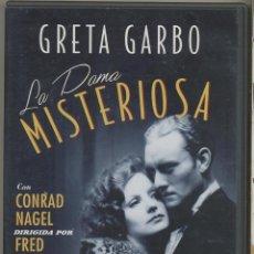 Cine: LA DAMA MISTERIOSA DVD: GRETA GARBO ES LA MAS GUAPA ESPIA DE OCCIDENTE. ROMANCE Y PELIGRO.. Lote 269450158