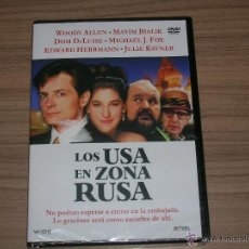 Cine: LOS USA EN ZONA RUSA DVD MICHAEL J.FOX WOODY ALLEN NUEVA PRECINTADA. Lote 144201873