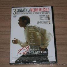 Cine: 12 AÑOS DE ESCLAVITUD DVD NUEVA PRECINTADA. Lote 98727278