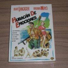 Cine: HURACAN DE EMOCIONES DVD BURT LANCASTER VIRGINIA MAYO NUEVA PRECINTADA. Lote 296065943
