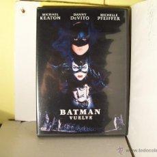 Cine: BATMAN VUELVE - MICHAEL KEATON - DVD. Lote 46830732