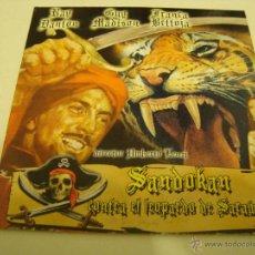 Cine: PELICULA SANDOKAN CONTRA EL LEOPARDO DE SARAWAK RAY DANTON 1964 AVENTURAS DVD. Lote 46876380