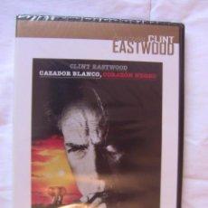 Cine: PELCULA CAZADOR BLANCO CORAZON NEGRO DE CLINT EASTWOOD AVENTURAS 1990 DVD. Lote 46884897