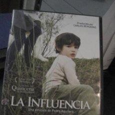 Cine: LA INFLUENCIA , PEDRO AGUILERA, CINE DE AUTOR SELECCIONADA EN CANNES DVD BS1. Lote 46975119