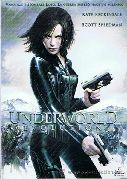 DVD UNDERWORLD EVOLUTION KATE BECKINSALE - SCOTT SPEEDMAN (Cine - Películas - DVD)