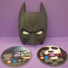 Cine: BATMAN - EDICIÓN ESPECIAL MÁSCARA - 2 DVD. Lote 47041529