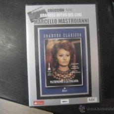 Cine: MATRIMONIO A LA ITALIANA, VITTORIO DE SICA, MASTROIANNI, SOFIA LOREN DVD BS2. Lote 47087173