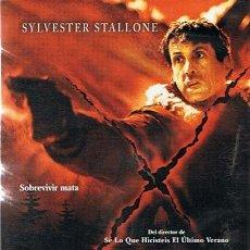 Cine: DVD D - TOX (OJO ASESINO) SYLVESTER STALLONE . Lote 47087541