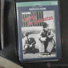 Cine: LADRON DE BICICLETA, VITTORIO DE SICA DVD BS2. Lote 47087635