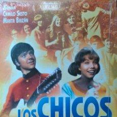 Cine: LOS CHICOS DEL PREU - PELÍCULA CON CAMILO SESTO, KARINA... DVD NUEVO, AÚN PRECINTADO. Lote 47151290