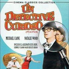 Cine: DVD UN DETCTIVE CURIOSO MICHAEL CAINE - NATALIE WOOD. Lote 47159826