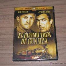 Cine: EL ULTIMO TREN DE GUN HILL DVD KIRK DOUGLAS ANTHONY QUINN NUEVA PRECINTADA. Lote 104397466