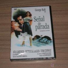 Cine: SEÑAL DE PARADA DVD AVA GARDNER NUEVA PRECINTADA. Lote 161240064