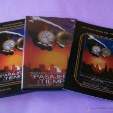 Cine: LOS PASAJEROS DEL TIEMPO - DVD + LIBRO - SCI FI - CIENCIA FICCION - NICHOLAS MEYER. Lote 47395455