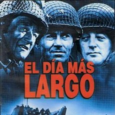 Cine: DVD EL DÍA MÁS LARGO JOHN WAYNE - HENRY FONDA. Lote 47464573