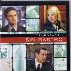 Cine: NO CONTIENE DVD - SOLO CAJA - SIN RASTRO - TEMPORADA 1 - DISCO 2 - EPISODIOS 7-12 - NO CONTIENE DVD. Lote 47467332