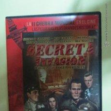 Cine: LA II GUERRA MUNDIAL EN EL CINE,SECRETA INVASION,Nº 31.. Lote 47467608