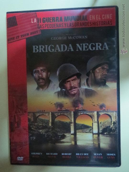 LA II GUERRA MUNDIAL EN EL CINE,BRIGADA NEGRA,Nº 41. (Cine - Películas - DVD)