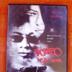 Cine: DVD ROMEO DEBE MORIR. Lote 47556500