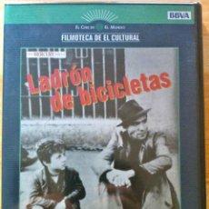 Cine: LADRÓN DE BICICLETAS - DIRECTOR: VITTORIO DE SICA - DVD NUEVO, AÚN PRECINTADO. Lote 47558651