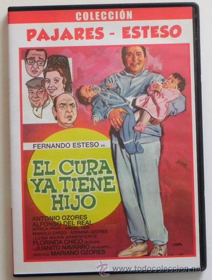 EL CURA YA TIENE HIJO - DVD PELÍCULA COMEDIA - FERNANDO ESTESO ANTONIO OZORES NAVARRO DEL REAL CHICO (Cine - Películas - DVD)