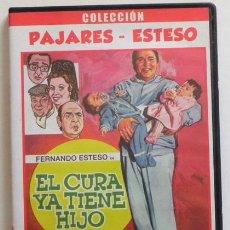 Cine: EL CURA YA TIENE HIJO - DVD PELÍCULA COMEDIA - FERNANDO ESTESO ANTONIO OZORES NAVARRO DEL REAL CHICO. Lote 54361404