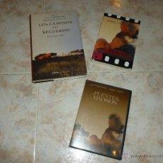 Cine: LOTE DE DVD + LIBROS: LOS PUENTES DE MADISON Y LOS CAMINOS DEL RECUERDO. Lote 36820872