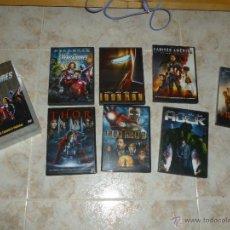 Cine: PACK 7 PELICULAS LOS VENGADORES EN DVD. Lote 47761875